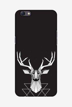 Amzer Geometric Deer Hard Shell Designer Case For Oppo F3 Plus