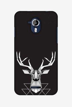 Amzer Geometric Deer Hard Shell Designer Case For Micromax Canvas Magnus