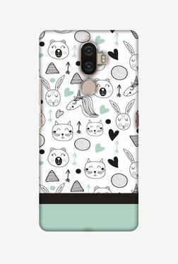 Amzer Unicorns Hard Shell Designer Case For Lenovo K8 Note