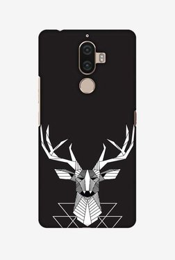 Amzer Geometric Deer Hard Shell Designer Case For Lenovo K8 Note