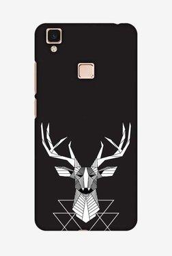 Amzer Geometric Deer Hard Shell Designer Case For Vivo V3Max