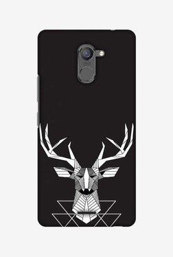 Amzer Geometric Deer Hard Shell Designer Case For Infinix Hot 4 Pro