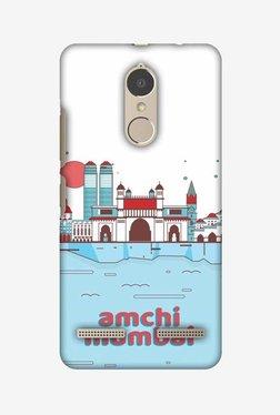 Amzer Aamchi Mumbai Hard Shell Designer Case For Lenovo K6/K6 Power