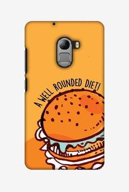Amzer Burger Hard Shell Designer Case For Lenovo A7010/K4 Note
