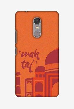 Amzer Wah Taj Hard Shell Designer Case For Lenovo K6 Note