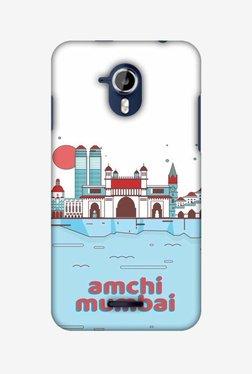 Amzer Aamchi Mumbai Hard Shell Designer Case For Micromax Canvas Magnus