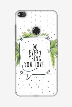 Amzer Do Everything You Love Designer Case For Huawei P8 Lite