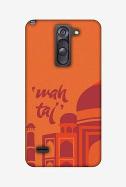 Amzer Wah Taj Hard Shell Designer Case For LG G3 Stylus