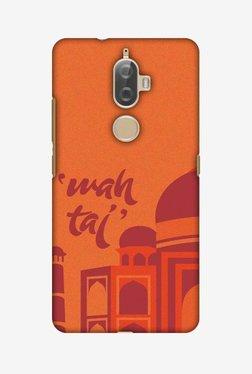 Amzer Wah Taj Hard Shell Designer Case For Lenovo K8 Plus