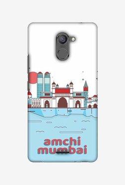 Amzer Aamchi Mumbai Hard Shell Designer Case For Infinix Hot 4 Pro