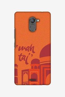 Amzer Wah Taj Hard Shell Designer Case For Infinix Hot 4 Pro