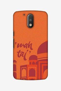 Amzer Wah Taj Hard Shell Designer Case For Moto G4 Play