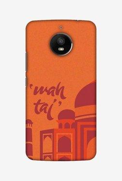 Amzer Wah Taj Hard Shell Designer Case For Moto E4 Plus