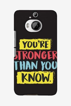 Amzer You Are Stronger Than Designer Case For HTC One M9 Plus