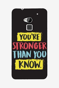 Amzer You Are Stronger Than Designer Case For HTC One Max