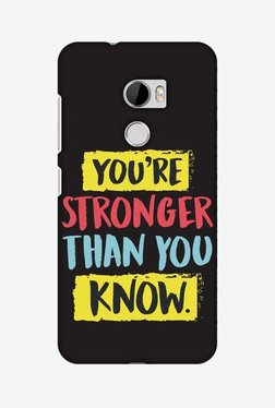 Amzer You Are Stronger Than Hard Shell Designer Case For HTC One X10
