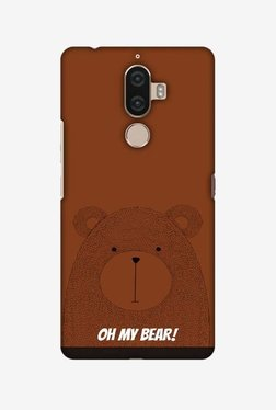 Amzer Bear Hard Shell Designer Case For Lenovo K8 Note