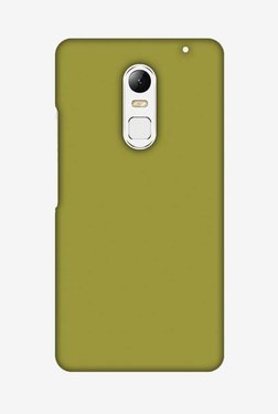 Amzer Golden Lime Hard Shell Designer Case For Lenovo Vibe X3