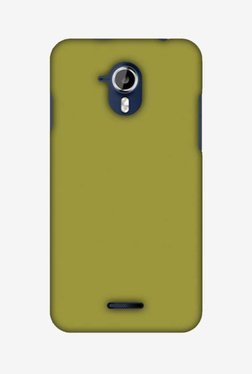 Amzer Golden Lime Hard Shell Designer Case For Micromax Canvas Magnus