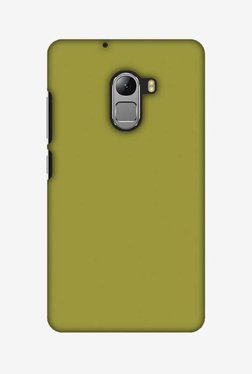 Amzer Golden Lime Hard Shell Designer Case For Lenovo A7010/K4 Note