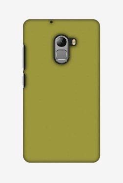Amzer Golden Lime Hard Shell Designer Case For Lenovo A7010/K4 Note