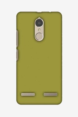 Amzer Golden Lime Hard Shell Designer Case For Lenovo K6/K6 Power