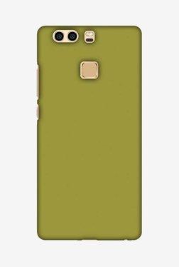 Amzer Golden Lime Hard Shell Designer Case For Huawei P9 Plus