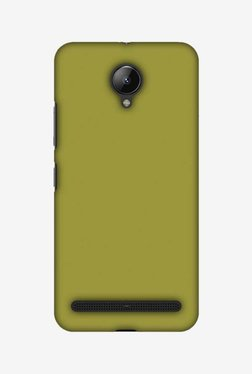 Amzer Golden Lime Hard Shell Designer Case For Lenovo C2