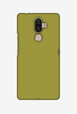 Amzer Golden Lime Hard Shell Designer Case For Lenovo K8 Note