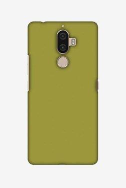 Amzer Golden Lime Hard Shell Designer Case For Lenovo K8 Note