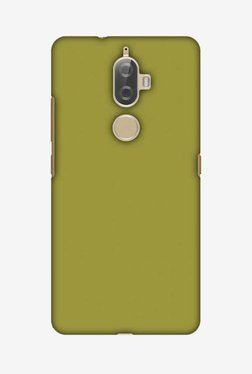 Amzer Golden Lime Hard Shell Designer Case For Lenovo K8 Plus