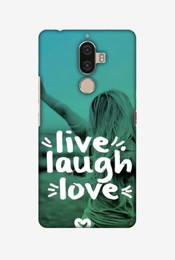 Amzer Live Laugh Love Hard Shell Designer Case For Lenovo K8 Note