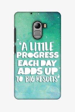 Amzer A Little Progress Each Day Hard Shell Designer Case For Lenovo A7010/K4 Note