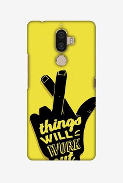 Amzer Things Will Work Out Hard Shell Designer Case For Lenovo K8 Note