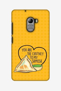 Amzer You Are The Chutney To My Hard Shell Designer Case For Lenovo A7010/K4 Note