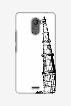 Amzer Qutub Minar Hard Shell Designer Case For Infinix Hot 4 Pro