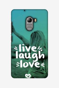 Amzer Live Laugh Love Hard Shell Designer Case For Lenovo A7010/K4 Note
