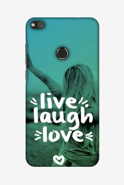 Amzer Live Laugh Love Designer Case For Huawei P8 Lite