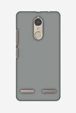 Amzer Neutral Grey Hard Shell Designer Case For Lenovo K6/K6 Power