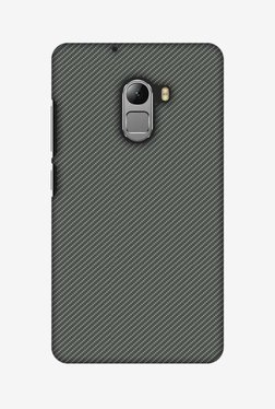 Amzer Neutral Grey Texture Hard Shell Designer Case For Lenovo A7010/K4 Note
