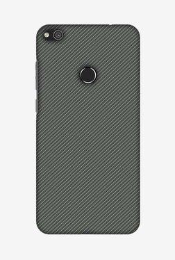 Amzer Neutral Grey Texture Designer Case For Huawei P8 Lite