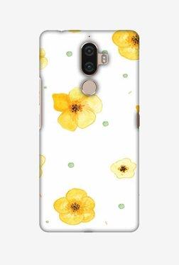 Amzer Lilies Hard Shell Designer Case For Lenovo K8 Note