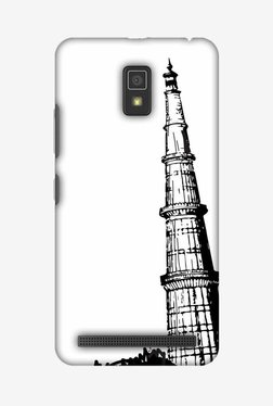 Amzer Qutub Minar Hard Shell Designer Case For Lenovo A6600/A6600 Plus