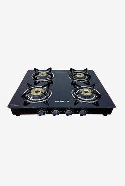 Faber Splendor 4BB SS AI Gas Cooktop (Black)