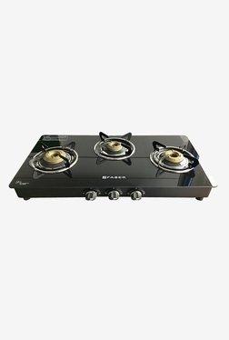 Faber Splendor 3BB SS AI Gas Cooktop (Black)