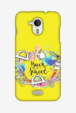 Amzer Back To School Hard Shell Designer Case For Micromax Canvas HD