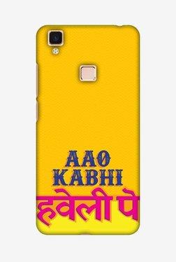 Amzer Aao Kabhi Hard Shell Designer Case For Vivo V3Max