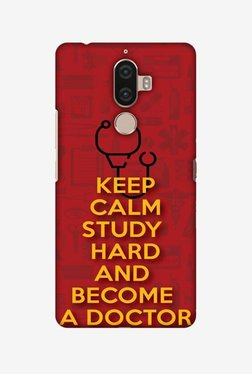 Amzer Doctors Quote Hard Shell Designer Case For Lenovo K8 Note