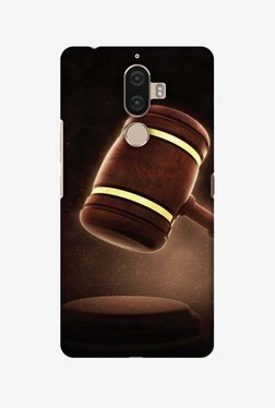 Amzer Lawyers 2 Hard Shell Designer Case For Lenovo K8 Note