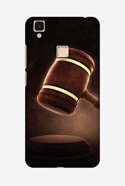 Amzer Lawyers 2 Hard Shell Designer Case For Vivo V3Max